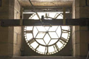 Clock from inside