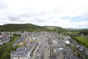 Peebles from the tower